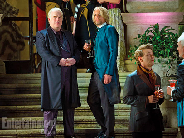 The Hunger Games: Catching Fire - Plutarch and Haymitch