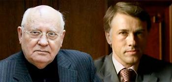 Mikhail Gorbachev / Christoph Waltz
