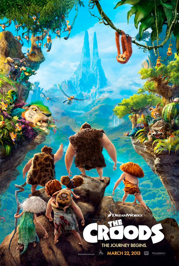 The Croods Poster