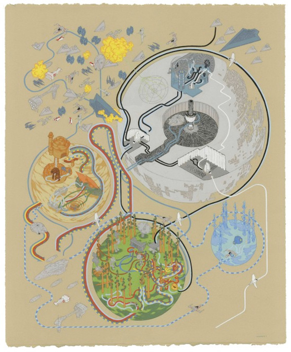 Andrew DeGraff Posters - Return of the Jedi