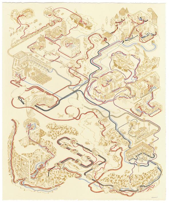Andrew DeGraff Posters - Last Crusade