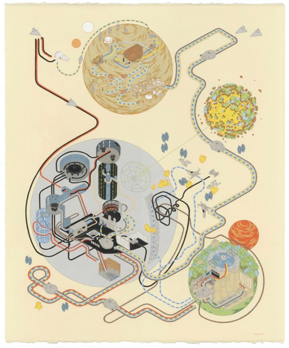 Andrew DeGraff Posters - A New Hope