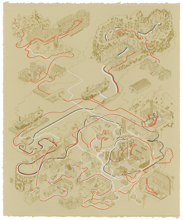 Andrew DeGraff Posters - Raiders of the Lost Ark