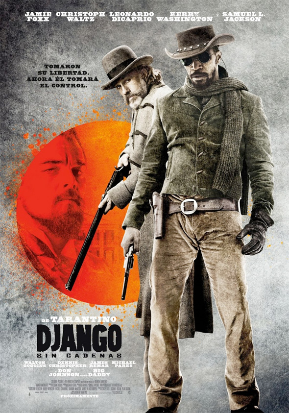 Django Unchained - International Poster