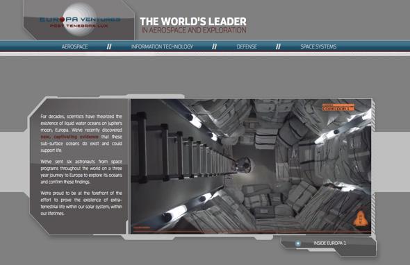 Europa Ventures Website