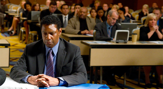 Flight - Denzel Washington in Court