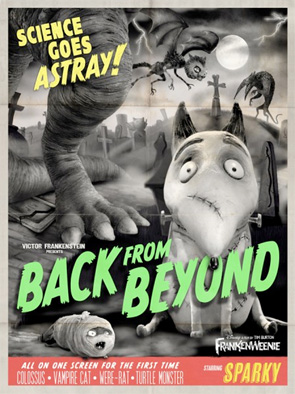 Frankenweenie - Monster Posters - Back from Beyond