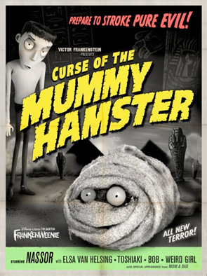 Frankenweenie - Monster Posters - Mummy Hamster
