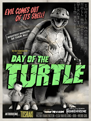 Frankenweenie - Monster Posters - Turtle