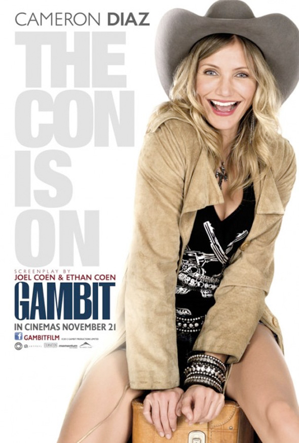 Gambit - International Poster - Cameron Diaz