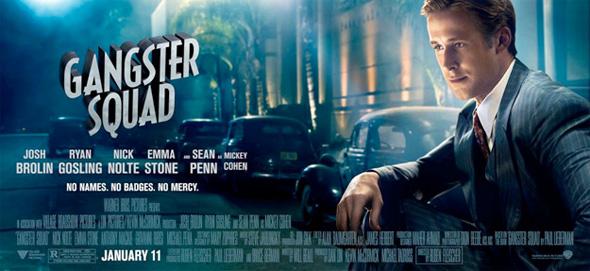 Gangster Squad - Ryan Gosling Banner