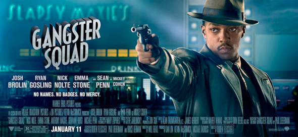 Gangster Squad - Anthony Mackie Banner