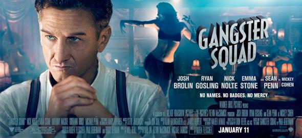 Gangster Squad - Sean Penn Banner