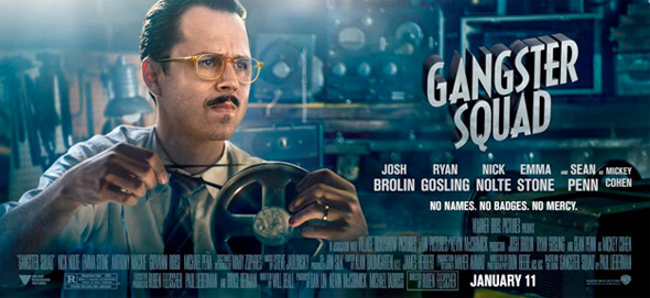 Gangster Squad - Giovanni Ribisi Banner