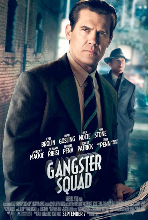 Gangster Squad - Josh Brolin Poster