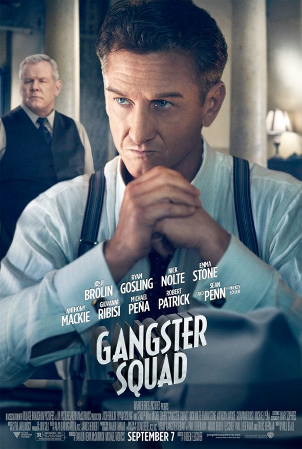Gangster Squad - Sean Penn Poster