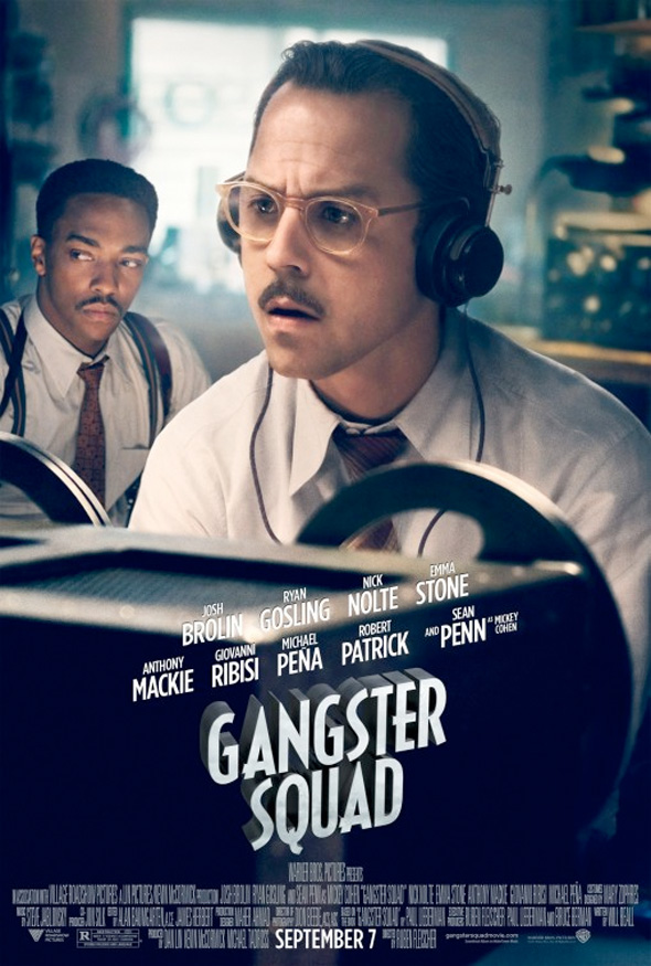 Gangster Squad - Giovanni Ribisi Poster