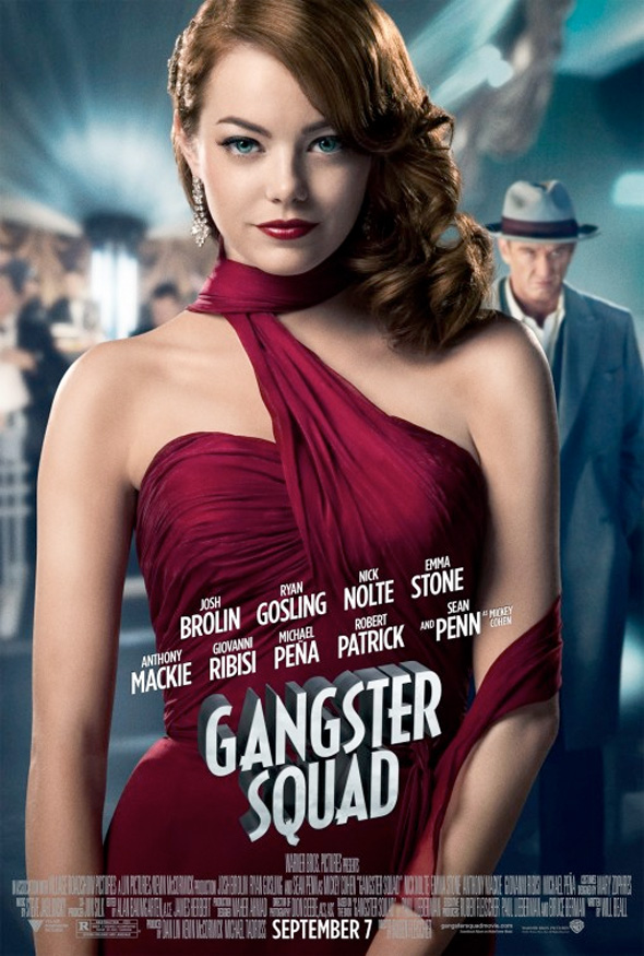 Gangster Squad - Emma Stone Poster