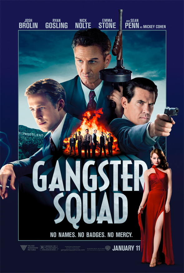Gangster Squad - First Poster