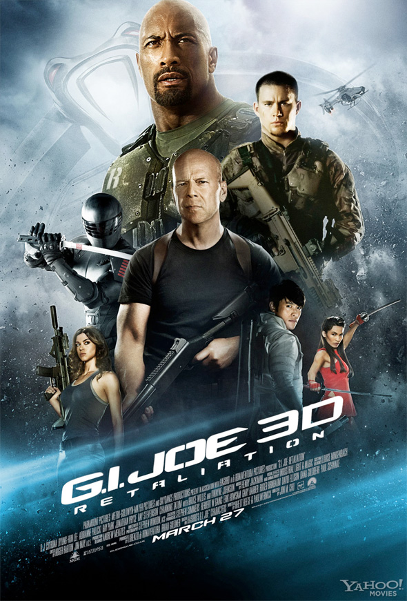 G.I. Joe: Retaliation - New Poster