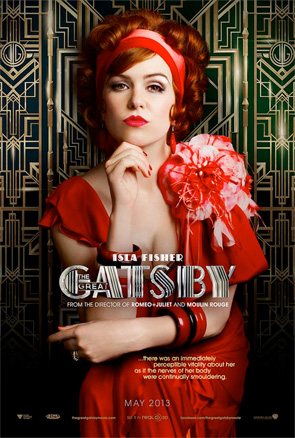 The Great Gatsby - Character Posters - Isla Fisher