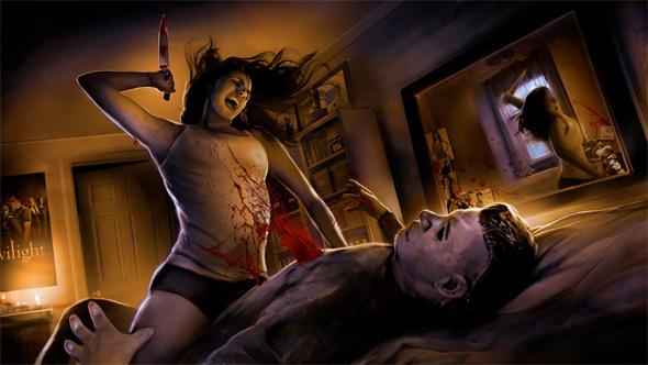 Halloween Remake Pitch - Bedroom