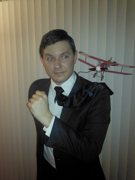 Halloween 2012 - Roger Thornhill from North by Northwest