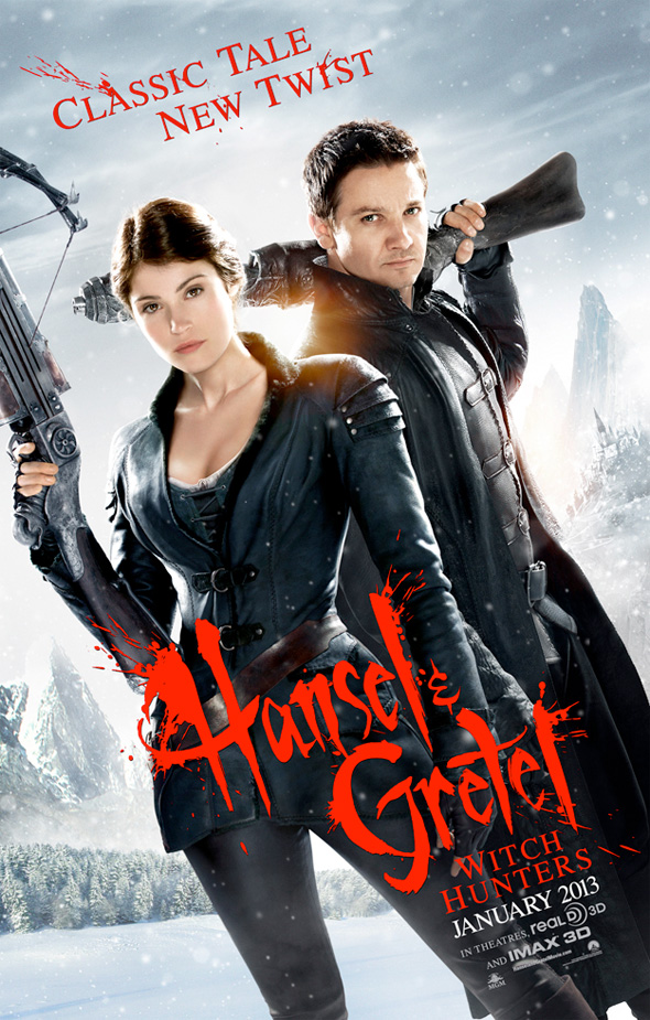 Hansel & Gretel: Witch Hunters - First Poster