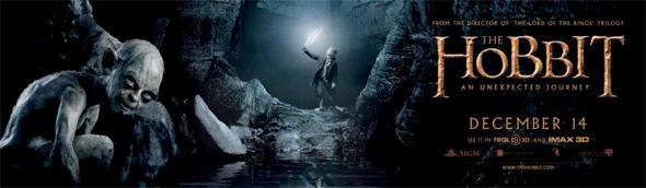 The Hobbit - Gollum Banner