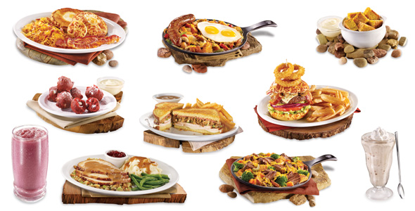 The Hobbit - Denny's Menu Items