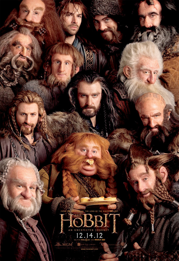 The Hobbit - Dwarves Poster