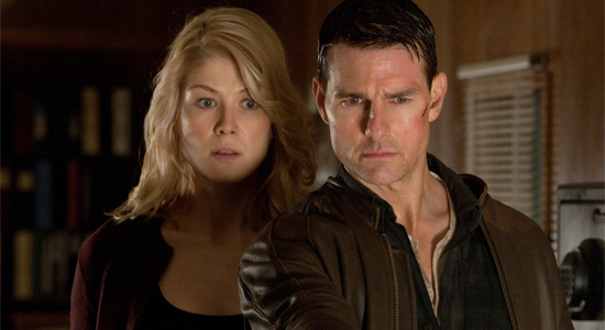 Jack Reacher - Tom Cruise and Rosamund Pike