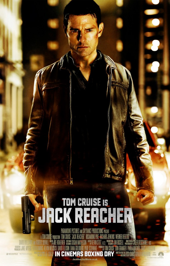 Jack Reacher - UK Poster