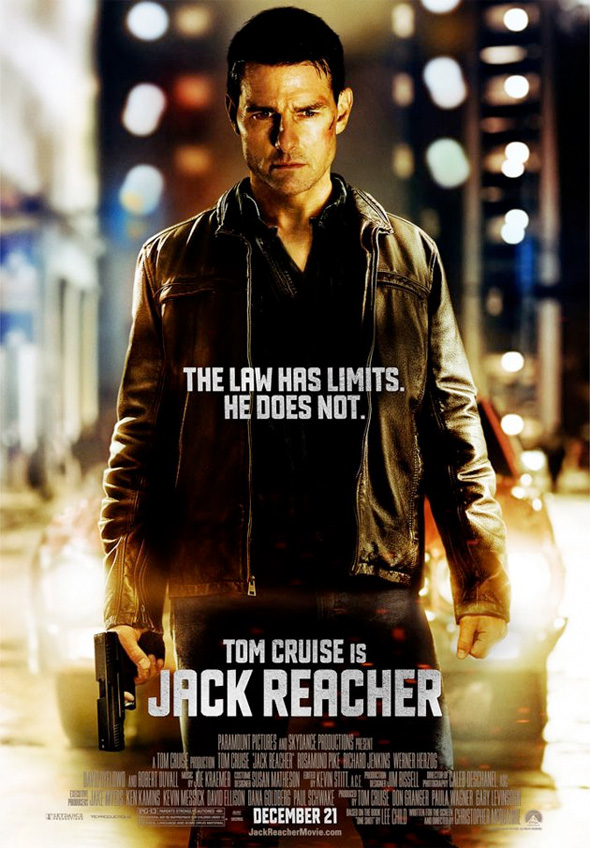 Jack Reacher - US Poster