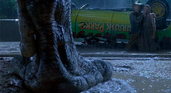 Jurassic Park - T-Rex Foot