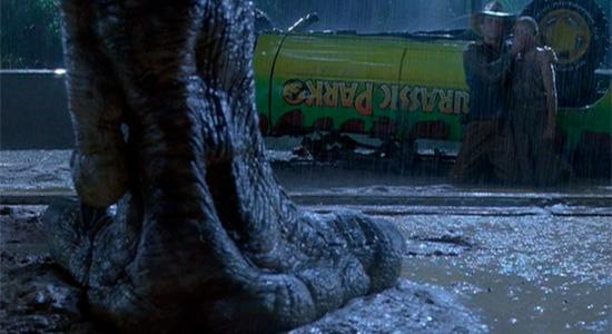 Jurassic Park - T-Rex Foot