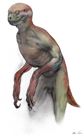 Jurassic Park 4 - Abandoned Concept Art 1