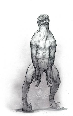 Jurassic Park 4 - Abandoned Concept Art 2