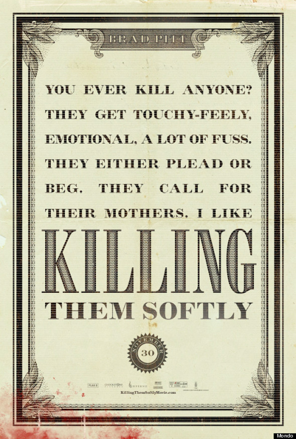 Killing Them Softly - Artistic Poster 2