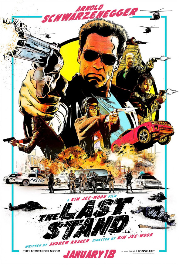 The Last Stand - NYCC Poster