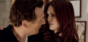 Liam Neeson and Julianne Moore