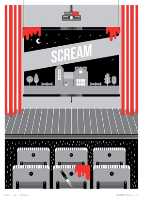 Little Print Shop of Horrors - Scream