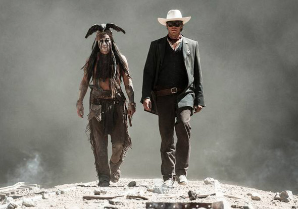 The Lone Ranger - Depp & Hammer Smoke
