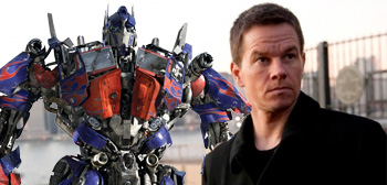 Optimus Prime / Mark Wahlberg