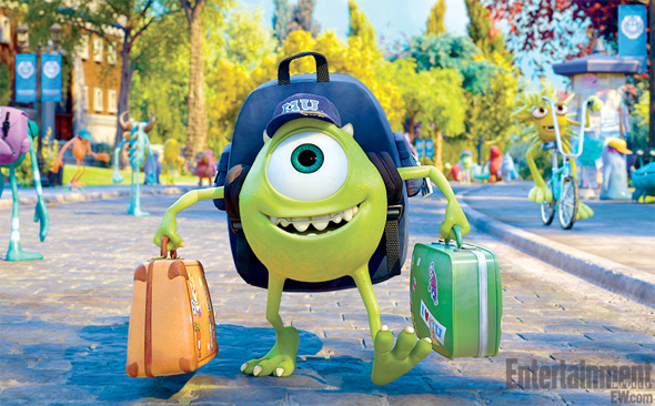 Monsters University - First Look - Mike at School