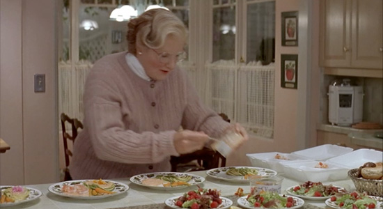 Mrs. Doubtfire - Mrs. Doubtfire cooking