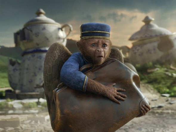 Oz: The Great and Powerful - First Look - Flying Monkey