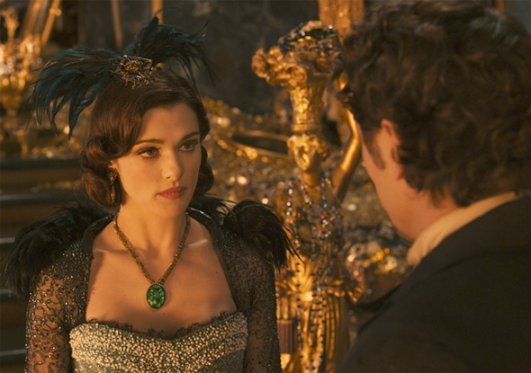 Oz: The Great and Powerful - First Look - Rachel Weisz and James Franco