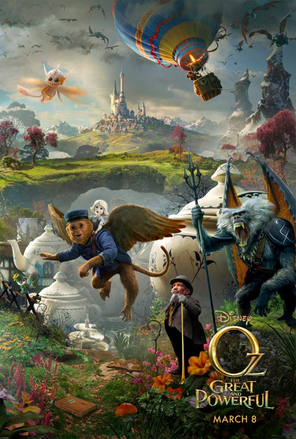 Oz: The Great and Powerful - Triptych Poster #2