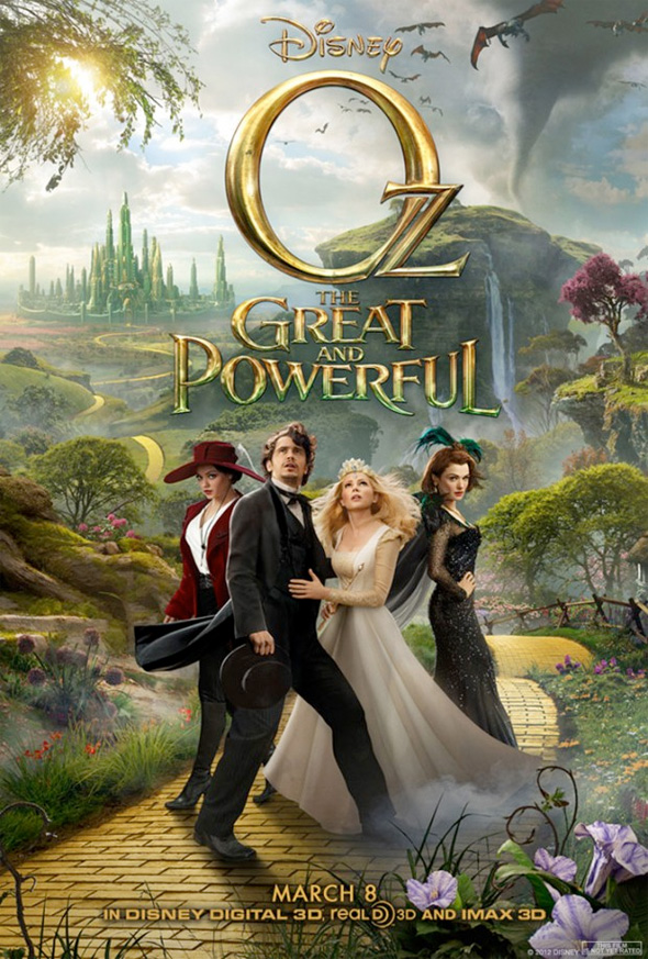 Oz: The Great and Powerful - Final Triptych Poster